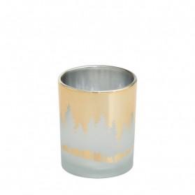 Winterscape świecznik na sampler