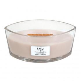 Vanilla & Sea Salt świeca elipsa WoodWick