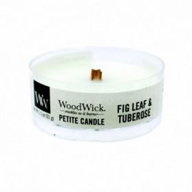 Fig Leaf & Tuberose świeca petite WoodWick