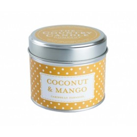 Polkadot Coconut & Mango The Country Candle Superstars