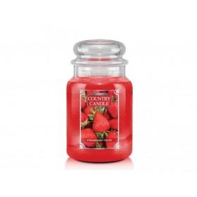 Strawberry Fields słoik duży Country Candle