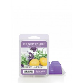 Lemon Lavender wosk Country Candle 64g