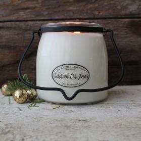 Victorian Christmas średnia świeca Milkhouse