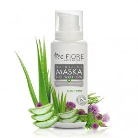 Maska wzmacniająca Aloes + Zioła e-Fiore