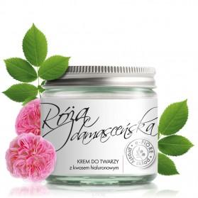 Krem przeciwzmarszczkowy z różą damasceńską  i kwasem hialuronowym e-Fiore