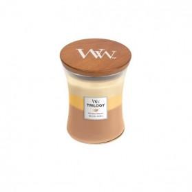 Golden Treats Trillogy świeca średnia WoodWick