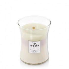 Terrace Blossoms Trillogy świeca średnia WoodWick
