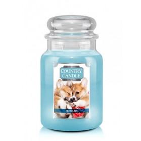 Fresh Air Puppy Słoik duży Country Candle