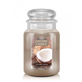 Coconut Wood Słoik duży Country Candle