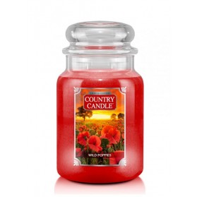 Wild Poppies Duży słoik Country Candle