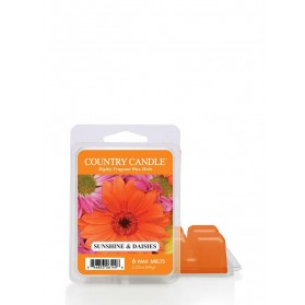 Sunshine&Daisies wosk Country Candle 64g