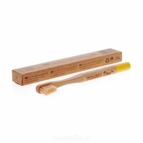 Szczoteczka bambusowa dla dzieci miękka Mohani