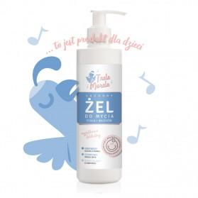Żel dla dzieci i niemowląt od 1-go dnia życia do mycia ciała i włosów 250ml E-fiore