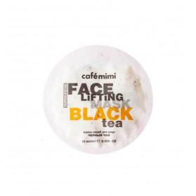 Cafe Mimi maska-scrub z czarną herbatą i trawą cytrynową