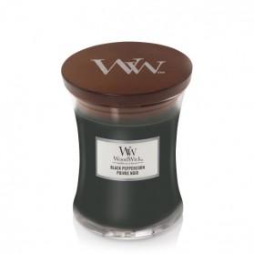 Black Peppercorn świeca średnia WoodWick