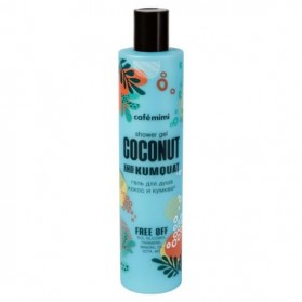 Żel pod prysznic Coconut & Kumquat 300ml Cafe Mimi żel-pianka