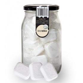 Tabletki do zmywarki bezzapachowe słoik 35 sztuk