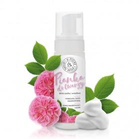 Pianka do mycia twarzy Róża Damasceńska 150ml