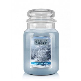 Fresh Aspen Snow słoik duży Country Candle