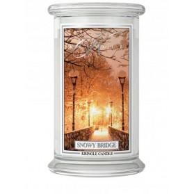 Snowy Bridge duży słoik Kringle Candle