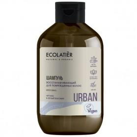 Odbudowujący szampon Argan i Jaśmin ECOLATIER URBAN
