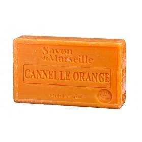 Mydło Marsylskie Pomarańcza Cynamon  100g