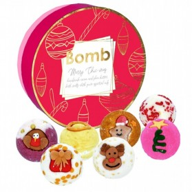 Zestaw Merry Chic-Mas Bomb Cosmetics