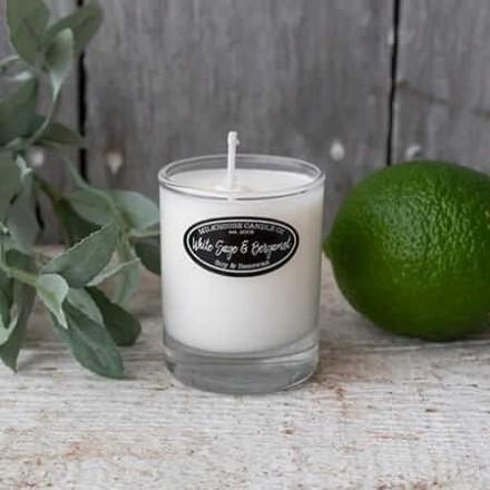 White Sage & Bergamot buttershot świeca Milkhouse