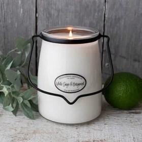 White Sage & Bergamot duża świeca Milkhouse