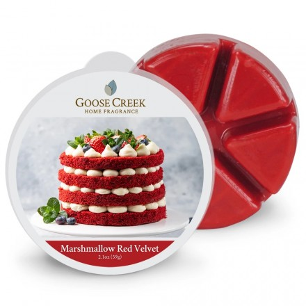 Marshmallow Red Velvet Wosk Goose Creek