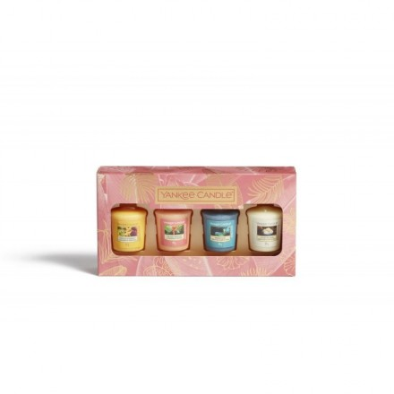 Zestaw 4 świec typu sampler/votive The Last Paradise