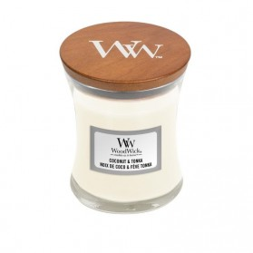 Coconut & Tonka świeca mała WoodWick