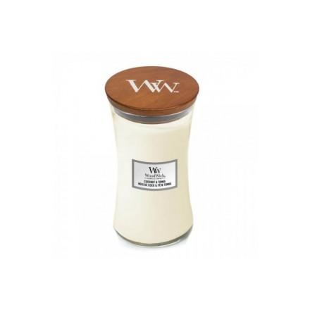 Coconut & Tonka świeca duża WoodWick