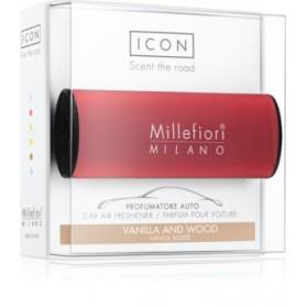 Millefiori zapach do samochodu Vanilla and Wood
