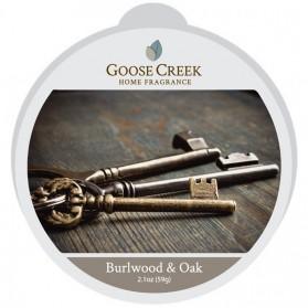 Burlwood & Oak wosk Goose Creek