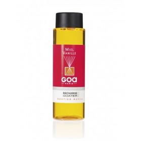 Wkład zapachowy GOA 250 ml Miel Vanille (Miód i Wanilia)