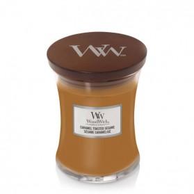 Caramel Toasted Sesame świeca średnia WoodWick