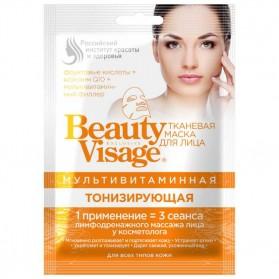 FITOKOSMETIK Multiwitaminowa maska do twarzy w płachcie -Tonizująca Beauty Visage 25ml