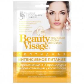 FITOKOSMETIK Peptydowa maska do twarzy w płachcie - Intensywne odżywienie Beauty Visage 25 ml