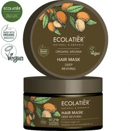 ARGAN Maska do włosów Głęboko odżywiająca EOCLATIER 250ml