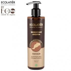MAROKAN ARGAN Balsam do włosów Odżywczo - Wzmacniający 250ml ECOLATIER