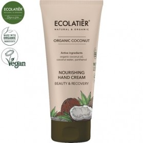 COCONUT Odżywczy krem do rąk ECOLATIER 100ml