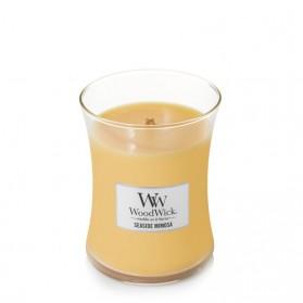 Seaside Mimosa świeca średnia WoodWick