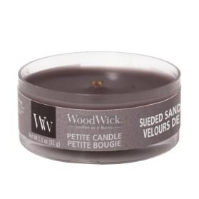 Sueded Sandalwood świeca petite WoodWick