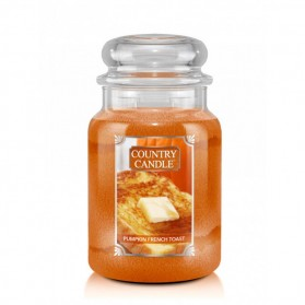 Pumpkin French Toast słoik duży Cauntry Candle