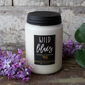 Wild Lilacs Farmhouse Jar duży