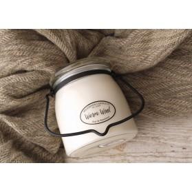 Warm Wool świeca średnia Milkhouse