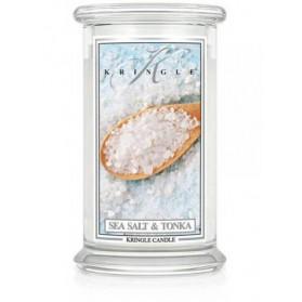 Sea Salt & Tonka świeca duża Kringle Candle
