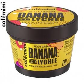 Cafe Mimi masło do ciała Banan & Lychee