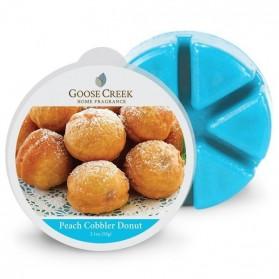 Peach Cobbler Donut wosk Goose Creek